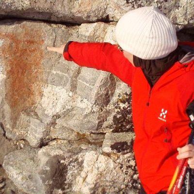 Kalliomaalaus Juojärven Luutsalossa