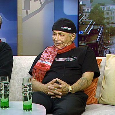 Hortto Kaalo -yhtyeen Marko Putkonen (vas.) ja Feija Åkerlund.