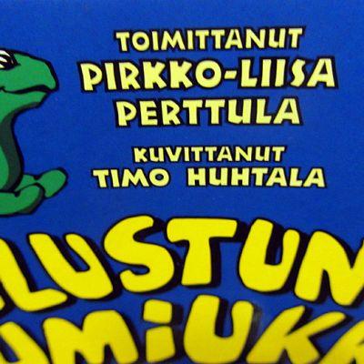 Pirkko-Liisa Perttulan kirjan Vilustunut lumiukko kansi.