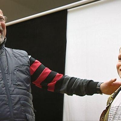 Musikaalin ohjaaja ja yksi ehdokkaista Gavrochin rooliin