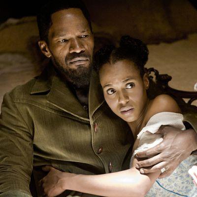 Kuvakaappaus Django Unchained elokuvasta.