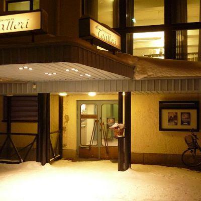 Savonlinnan Teatteri, sisäänkäynti.