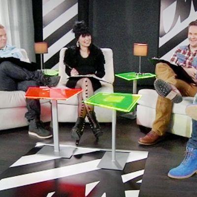 Redrama, Aija Puurtinen, Tomi Saarinen ja Toni Wirtanen toimivat Uuden Musiikin Kilpailun tuomareina.