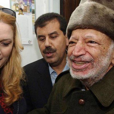 Suha Arafat ja Jasser Arafat.