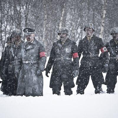 Kuva Tommy Wirkolan elokuvasta Død Snø.