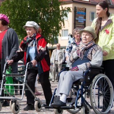 Rollaattoriralli Mikkelissä