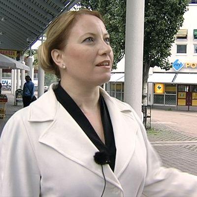 Aalto yliopiston Living Places –tutkimusryhmän tutkijatohtori Sari Dhima.