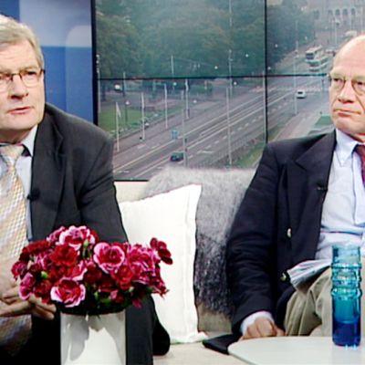 Johannes Koskinen ja Kimmo Sasi