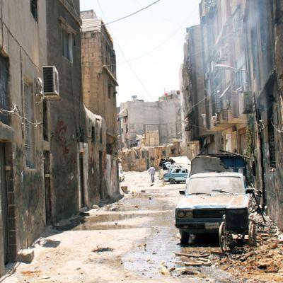 Kuva Midanin kaupunginosan kaduilta Damaskoksessa 20. heinäkuuta.