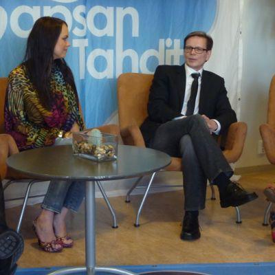 Jani Wickholm, Kirsi Ranto, Kake Randelin ja Tarja Lunnas