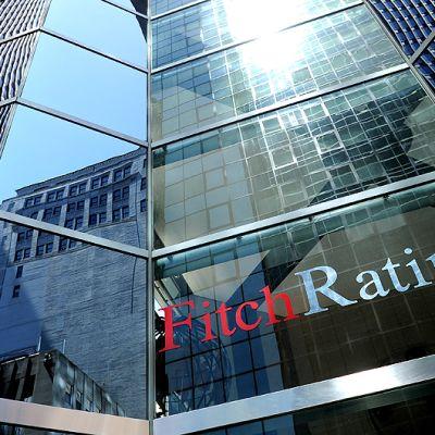 Fitch Ratings -luottoluokituslaitoksen rakennus New Yorkissa.
