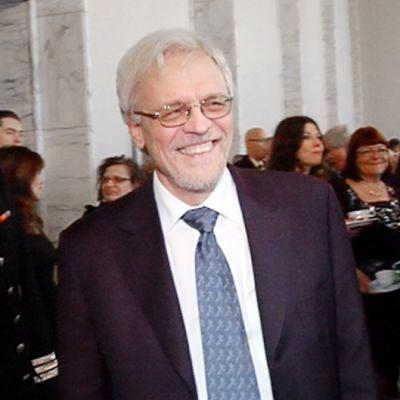 Pentti Arajärvi eduskunnan valtiopäivien avajaisissa.