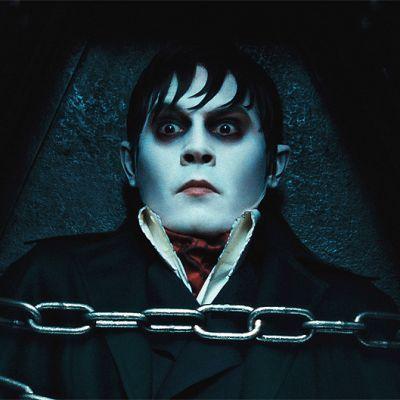 Johnny Depp elokuvassa Dark Shadows.
