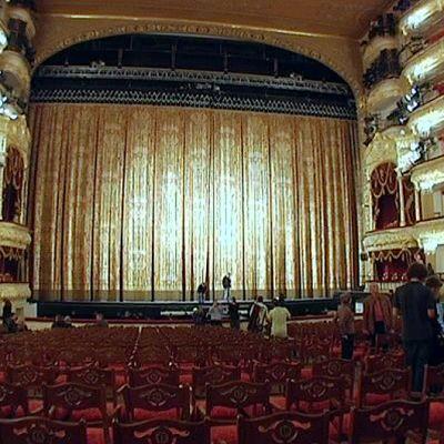 Bolshoi-teatterin sali.