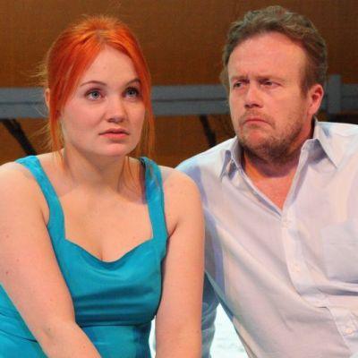 Salla Koskela (Lena) ja Kimmo Tuppurainen (Daniel Daréus)