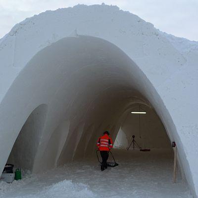 Kemin Lumilinnan avajaiset vietetään 28. tammikuuta.