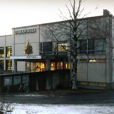 Kuopion uimahalli.