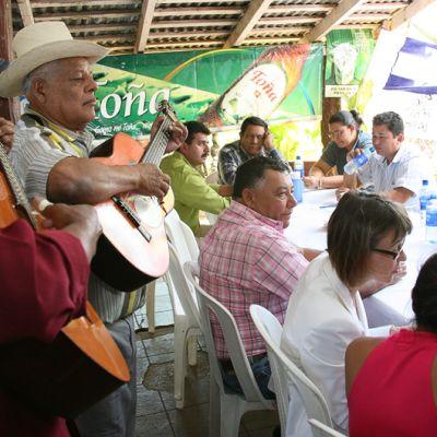 Kehitysyhteistyön 20-vuotisjuhlan tunnelmaa