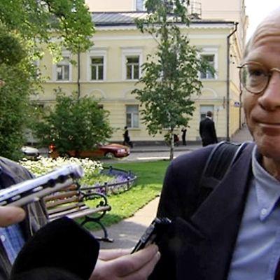 Kimmo Sasi kommentoi hallitusneuvotteluja.