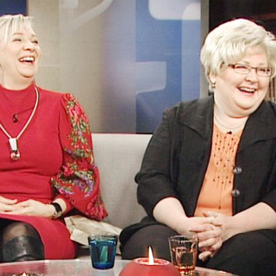 Irina Aardemäe ja Riitta-Liisa Hahtala