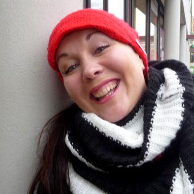 Näyttelijä Pauliina Hukkanen.