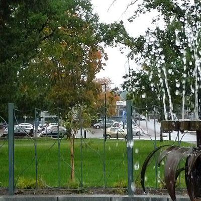 Rotary-suihkulähde Kouvolan keskuspuistossa.