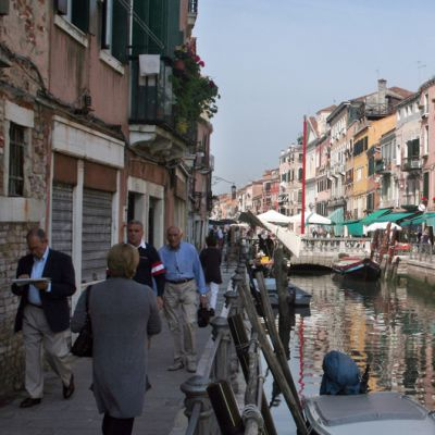 Rio di Santa Anna -kanaali Venetsiassa.