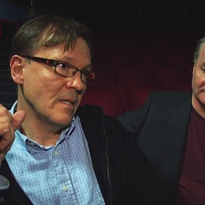 Henrik Timonen ja Ilkka Laasonen
