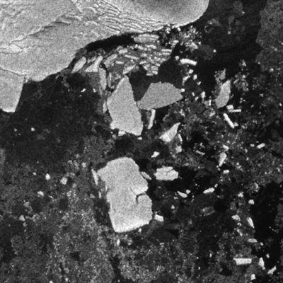 Satelliittikuva Antarktikselta.