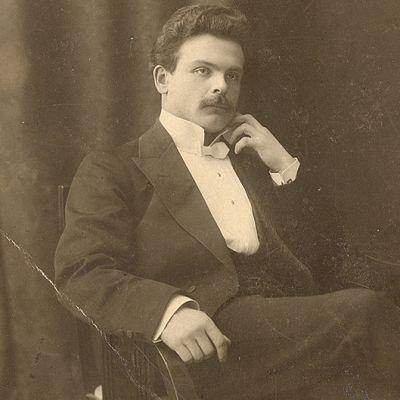 Toivo Kuula vuonna 1908.