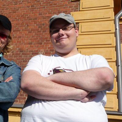 Juri Timonen ja Tomi Päivinen.