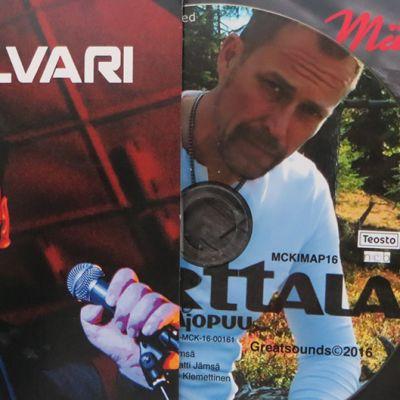 Alvarin, Marttalan ja Määtän singlet.