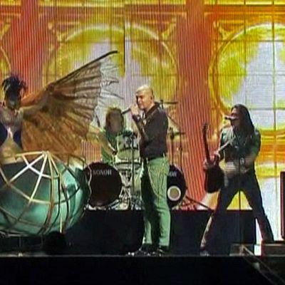 Eurovision laulukilpailujen pukuharjoitus