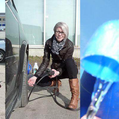 Laura Holappa antaa perusvinkkejä, miten automobiili pysyy kulkukunnossa.