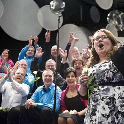 Vanajan Laulu tuulettaa TV-lähetyksessä