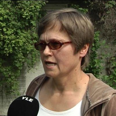 Kirjailija Helena Sinervo