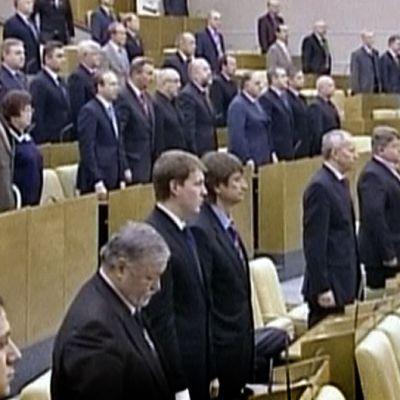 Kansanedustajat äänestävät duuman alahuoneessa