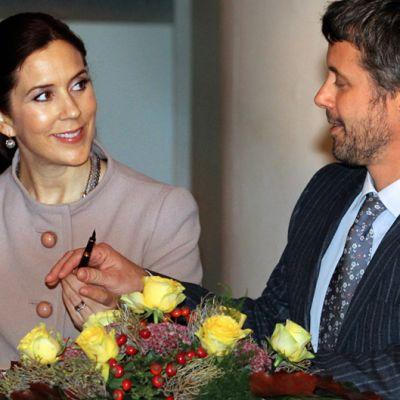 Tanskan prinsessa Mary ja prinssi Frederik vierailulla Saksassa syyskuussa 2010.