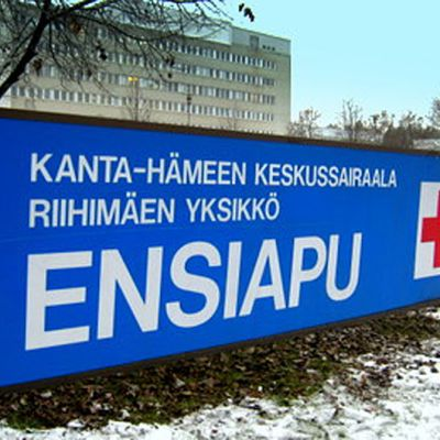 Kyltti Kanta-Hämeen Keskussairaala, Riihimäen yksikkö, Ensiapu