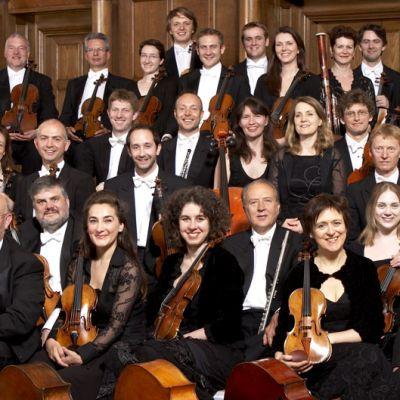 English Chamber Orchestra ryhmäkuvassa