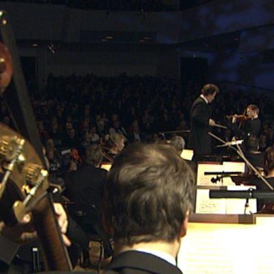 Sibelius viulukilpailun finaali Finlandia-talossa 30.11.2010.