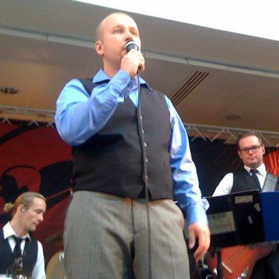 Mika Jefremoff Tangomarkkinoiden karsinnassa 2010.