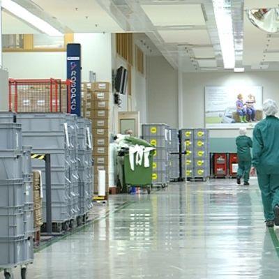 Mönlycke Health Care valmistaa Mikkelissä haavanhoitotuotteita.