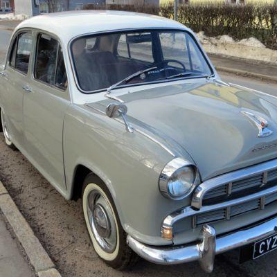 Morris Oxford III vm. 1957