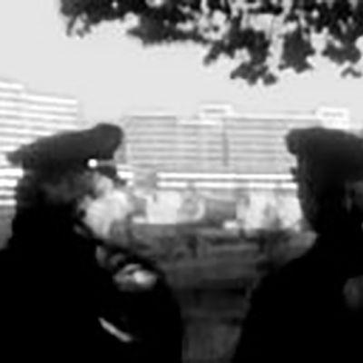 Kaksi saksalaispoliisia