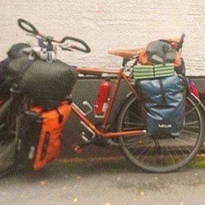 Varastettu pyörä