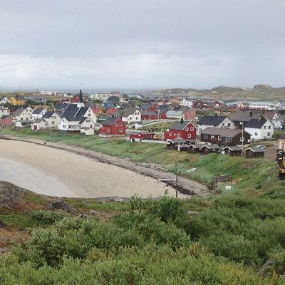 Pykeijan kylä Pohjois-Norja