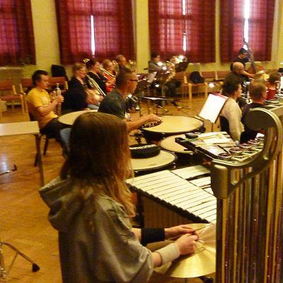 Kemin kaupunginorkesterin harjoitukset