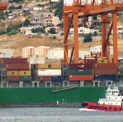 Hamnen i Pireus