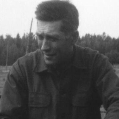 Gottfrid Pistol, malmletare, Korsnäs, 1970